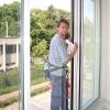 Mytí oken se zajištěním