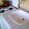 Mytí dřezu a sporáku - po