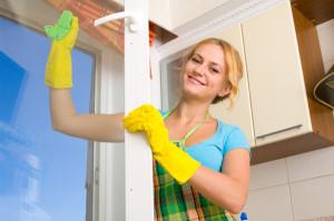 Výhodná služba určená domácnostem jménem Hospodyňka - mytí oken