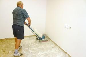 Krystalizace mramorových podlah