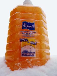 Krémové tělové mýdlo s přídavkem Aloe Vera