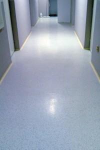 Ochrana podlah polymerovou disperzí - před aplikací