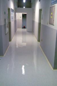 Ochrana podlah polymerovou disperzí - po aplikaci